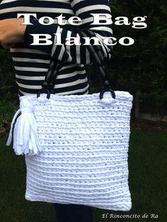 El Rinconcito de Ra: Tote Bag Blanco