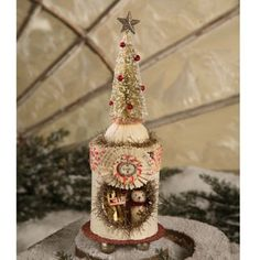 Snow Tree Peep Box for Christmas