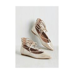 BC Footwear Make the Arabesque of It Flat (4.600 RUB) ❤ liked on Polyvore featuring shoes, flats, ballet flat, flat, silver, flat shoes, flat pumps, ballet pumps, ballerina shoes and metallic flats