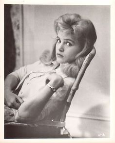 Sue Lyon in Lolita Lolita Vladimir, Sue Lyon, The Glenn, Cocktail Waitress, Vladimir Nabokov, Dyed Blonde Hair, Light Of My Life, Stanley Kubrick, Film Stills