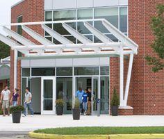 The University Center entrance