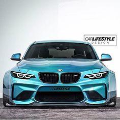 Ummmm yes please  sick BMW M2 render by @gabe_carlifestyle of @carlifestyle  #carninja #carlifestyle #bmw #m2 #render  @bmwusa @bmwmnation @bmw @bmwm