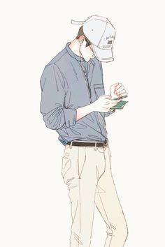 Exo, fanart, and oh sehun image exo fan art, chicas anime, boy Manga Top, Anime Kunst, Anime Art, Sehun, Kpop Exo, Boyfriend Look, Abstract Illustration, Illustration Sketches, Illustration Artists
