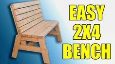 In this tutorial I will show you how to build a bench and a couple side tables. However, in the video tutorial I will only be building the bench. The tables are pretty self explanatory and I had no…