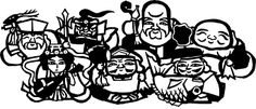 「七福神イラスト無料」の画像検索結果