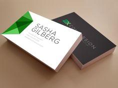 Sharp Business Cards