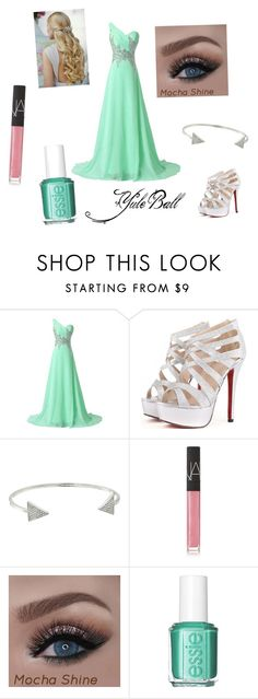 """""""Yule Ball- Option #3"""" by erin-t13 ❤ liked on Polyvore featuring Michael Kors, NARS Cosmetics and Essie"""