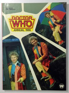 Doctor Who 1986 Annual featuring Colin by AtticTreasuresByCash