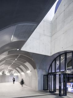 Stanice metra Loren od Arne Henriksen Arkitekter a MDH Arkitekter © Ivan Brodey