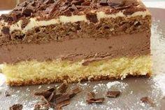 Hungarian Desserts, Hungarian Cake, Romanian Desserts, Romanian Food, Baking Recipes, Cake Recipes, Dessert Recipes, No Cook Desserts, Just Desserts