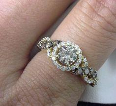 LEVIAN-CHOCOLATE-DIAMONDS-3-4-CT-TW-RING-14K-HONEY-GOLD