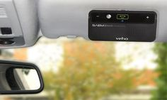 Be safe whilst driving and taking that phone call with the Veho SAEM Bluetooth car kit