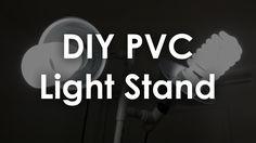 DIY PVC Light Stand - Maker Guide Episode 3