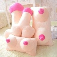 Wish | Creative Tricky Plush Cushion  Pillow Gift (Two Shapes)
