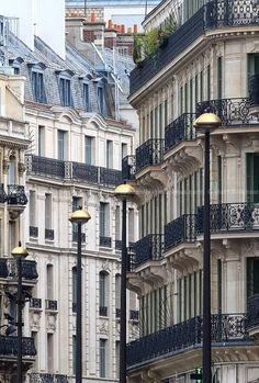 Convergencia de París Arquitectura.  por el fotógrafo Matt Robinson