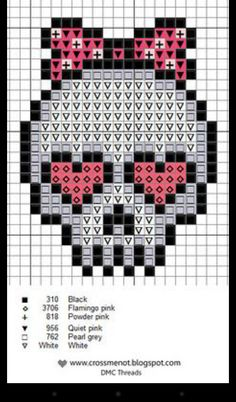 Super cute cross stitch patterns