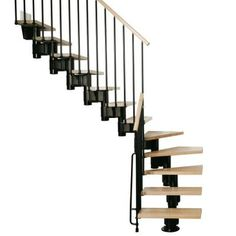 Exceptional Black Modular Staircase Kit K35001 At The Home Depot