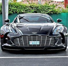 Aston Martin beautifu!!! the lines... the shine.. it's a nice dark color!!