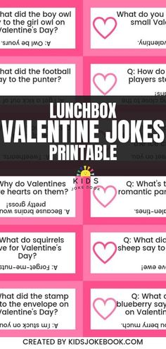 Valentine's Day Jokes for Kids are a fun way to celebrate! These corny riddles a. - Valentine's Day Jokes for Kids are a fun way to celebrate! These corny riddles and puns will have - Valentine Riddles, Valentines Day Jokes, Kinder Valentines, Valentines Day Activities, Ideas For Valentines Day, Free Printable Valentines, Funny Puns For Kids, Funny Love Jokes, Jokes Kids