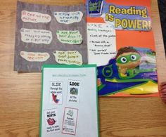 have kids make their own reading strategies poster - FREEBIE