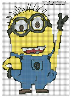 despicable me cross stitch