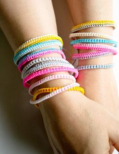 Breezy Friendship Bracelets - The Purl Bee