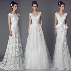 Tony Ward Couture | 2015 Bridal Collection Regal elegance for the sophisticated, modern bride.