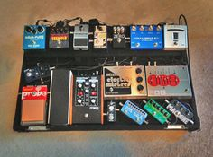 Cool Pedalboard set up
