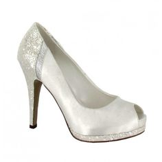 Diana de Menbur #LosZapatosDeTuBoda #ZapatosDeNovia #BridalShoes #WeddingShoes #Novia #Bride #Boda #Wedding #HechoEnEspaña #MadeInSpain #PeepToe #Menbur