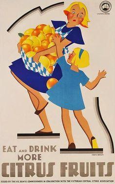Eat More Fruit ~ Dibdin and Brown