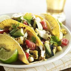 Grilled Fish Tacos   20 minute taco night! Sounds pretty darn good, right?