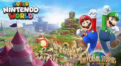 Nintendo abrirá el primer parque temático inspirado en Super Mario World en 2020
