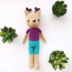 Ciervito - hechos por Florencia Rodríguez para Kitsune Shop