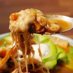 Best Slow-Cooker Chicken Tortilla Soup Recipe - How to Make Slow-Cooker Chicken Tortilla Soup