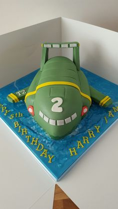 Thunderbird 2. By Dolly Train Event and Celebration Cakes