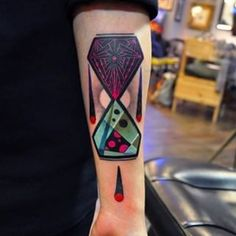 Because everything needs more color. | 32 Cool And Colorful Tattoos That Will Inspire You To Get Inked