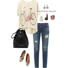 """Casual fashion"" by merrily-shop on Polyvore"
