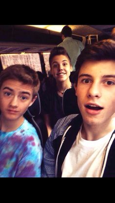 Jack Johnson Shawn Mendes and Matt Espinosa