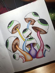 Art Drawings Trippy Awesome 69 Ideas For 2019 Psychedelic Drawings, Trippy Drawings, Art Drawings Sketches, Cute Canvas Paintings, Small Canvas Art, Hippie Art, Hippie Drawing, Trippy Painting, Stoner Art
