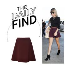 """Daily Find: Clover Canyon Mini Skirt"" by polyvore-editorial ❤ liked on Polyvore featuring Clover Canyon and DailyFind"