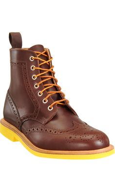Mark McNairy New Amsterdam Brogue Boot $480