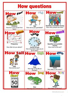 Poster - Making how questions - English ESL Worksheets for distance learning and physical classrooms English Activities For Kids, English Grammar For Kids, English Phonics, Learning English For Kids, English Worksheets For Kids, English Lessons For Kids, Kids English, Learn English Words, English Phrases