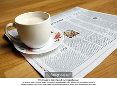 Nothing can be more enjoyable than your morning newspaper along with cup of Tea