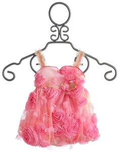 Cach Cach Rosebud Infant Girls Bubble Romper $61.00