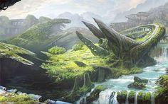 Imaginary Landscapes: 18 Digital Art Fantasy Worlds