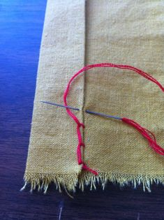 TUTORIAL: Hand Sewing Stitches (VERY pic-heavy)