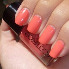 "Catrice ""Meet me at Coral Island"" my favourite nailpolish from catrice!"
