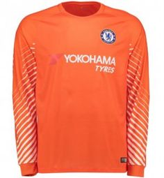 2017 Cheap Goalie Jersey Chelsea LS Replica Orange Shirt [AFC635]