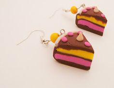 Kedy kreatív termékek: Habcsókos sütemény fülbevaló