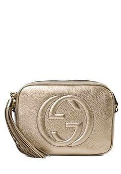 gucci Soho Disco Bag Crossbody Bag Beige #alducadaosta #newarrivals #fw #fall #winter #women #fashion #style #accessories #apparel #gucci